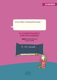 VA SCHREIBTRAINING 2: WÖRTER SCHREIBEN