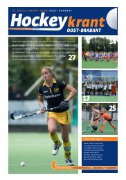 Hockeykrant Oost-Brabant najaar 2015