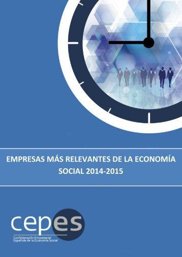 EMPRESAS MÁS RELEVANTES DE LA ECONOMÍA SOCIAL 2014-2015