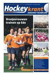 Hockeykrant Zuid&Oost Gelderland najaar 2015