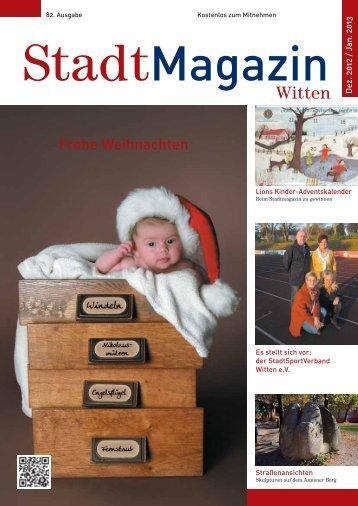 Witten Frohe Weihnachten - Stadtmagazin