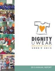 DignityUWear 2015 Flipbook