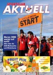 Sportclub Aktuell - Ausgabe Dezember 2015