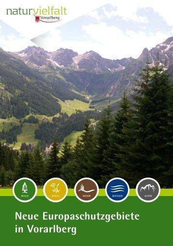 Neue Europaschutzgebiete in Vorarlberg