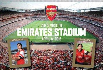 Arsenal Photo Book from PrintersRose
