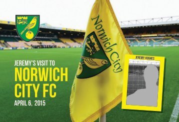 Norwich City FC Photo Book from PrintersRose