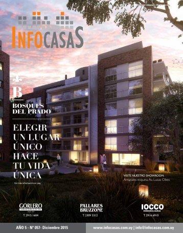 Revista InfoCasas - Número 57 - Diciembre 2015