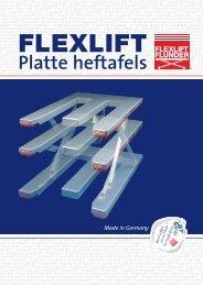 Platte heftafels - FLEXLIFT Hubgeräte GmbH