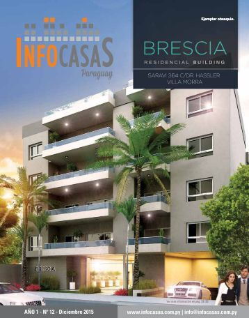 Revista InfoCasas Paraguay - Número 12 - Diciembre 2015