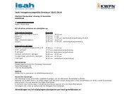 Afmeldingen en/of wijzigingen doorgeven per mail greef@kwpn.nl
