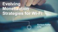 Monetization Strategies for Wi-Fi