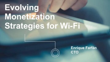 Monetization Strategies for Wi-Fi