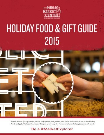 HOLIDAY FOOD & GIFT GUIDE 2015
