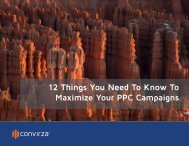 12 Things You Need To Know To Maximize Your PPC Campaigns