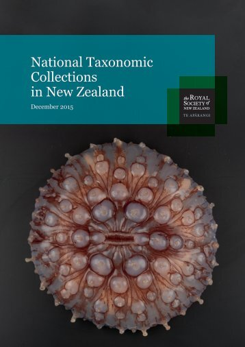National Taxonomic Collections in New Zealand