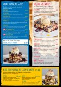 SAVOURY PANCAKES AND OMELETTES DESSERT PANCAKES SIDES - Page 3