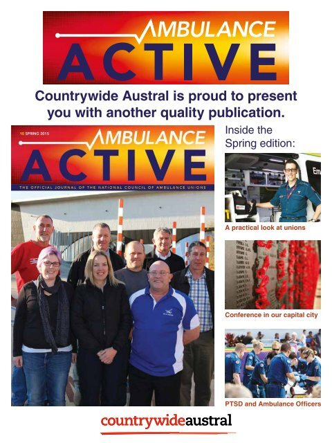 Countrywide Austral Ambulance Active 10 Spring 2015