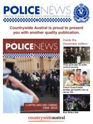 Countrywide Austral Police News Vol 95 No 12 December 2015