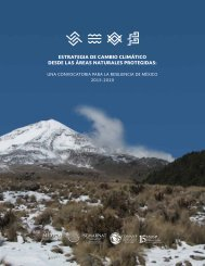 ESTRATEGIA DE CAMBIO CLIMÁTICO DESDE LAS ÁREAS NATURALES PROTEGIDAS