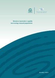 Western Australia's rapidly increasing remand population
