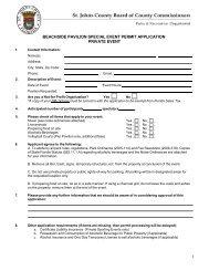 BEACHSIDE PAVILION SPECIAL EVENT PERMIT APPLICATION PRIVATE EVENT 1