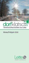 dorfklatsch - Winter/Frühjahr 2016