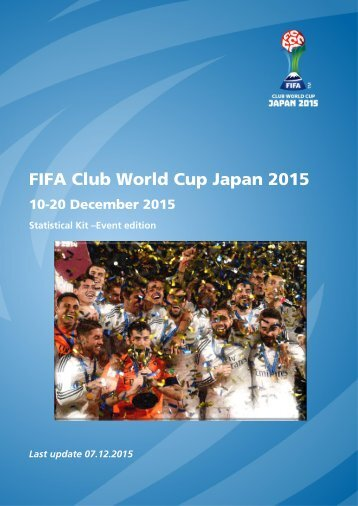 FIFA Club World Cup Japan 2015
