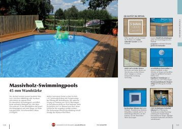 Swimmingpool magazine for Pool baumax