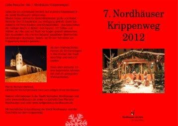 7. Nordhäuser Krippenweg 2012 - Stadt Nordhausen