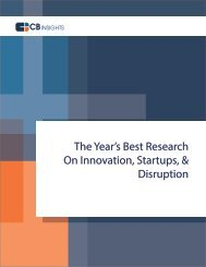The Year's Best Research On Innovation Startups & Disruption