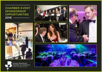 CHAMBER EVENT SPONSORSHIP OPPORTUNITIES 2016