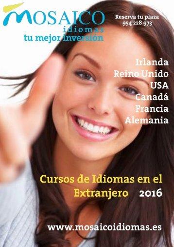 Cursos de Idiomas en el Extranjero 2016