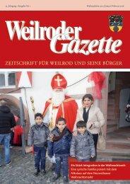 Weilroder Gazette Jan./Feb. 2016