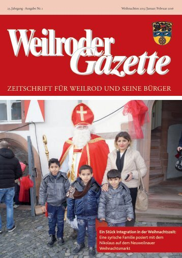 Weilroder Gazette Jan./Feb. 2016