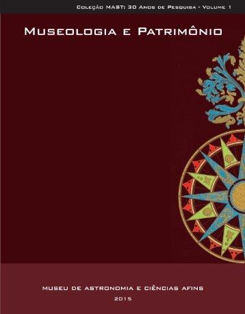 Coleção MAST: 30 Anos de Pesquisa Volume 1