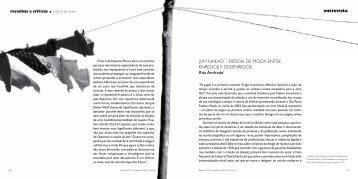 entrevista JUM NAKAO – DESIGN DE MODA ... - PROEC - UFG