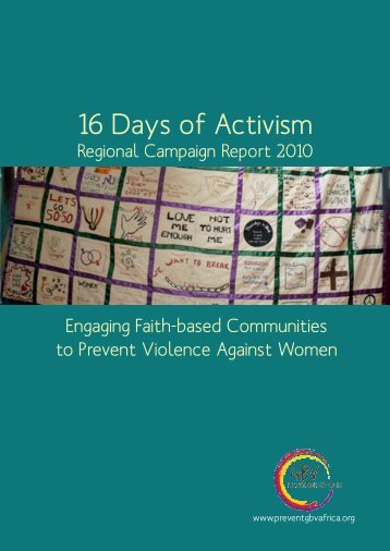16 Days of Activism - the GBV Prevention Network Website!