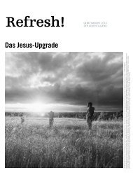 Refresh! Das Jesus-Upgrade - Jugendgebetslesung 2016