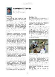 International Service - Rotary Nederland