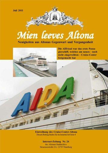Das Cruise-Center- Altona als neues Tor zur Welt?
