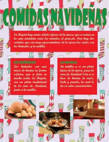 Revista Navideña (Comidas navideñas)
