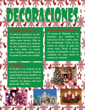 Revista Navideña (Decoraciones)