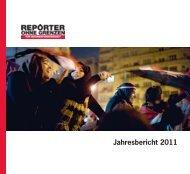Den Jahresbericht 2011 als PDF - Reporter ohne Grenzen
