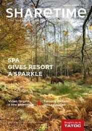 Sharetime magazine winter 2015 from TATOC, The Timeshare Association