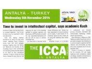 ICCA Article