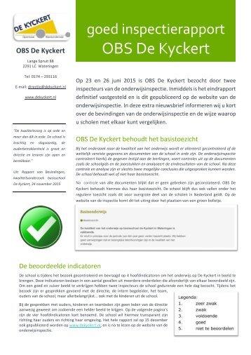 OBS De Kyckert