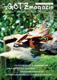 'sGÖTZmagazin - Herbst 2015