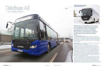 OsloBuss AS - Et Miljøfyrtårn!