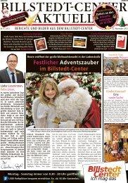Festlicher Adventszauber im Billstedt-Center