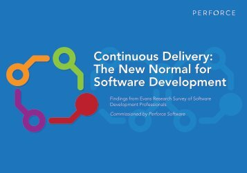 Continuous Delivery The New Normal for Software Development